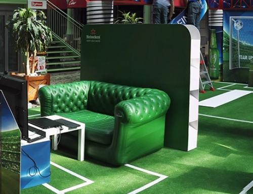Ritaglio in realtime Heineken