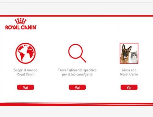 Royal Canin totem interattivi